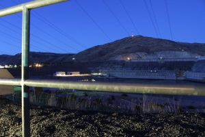 Ready for the laser show at the Grand Coulee Dam