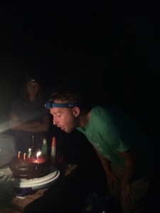 Still room for birthday cake!