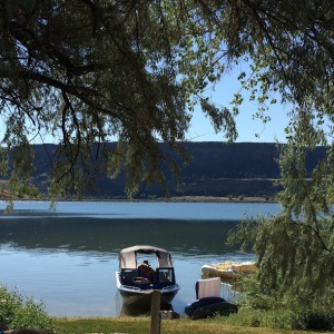 From our campsite.