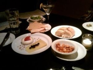 Great cheese platter.