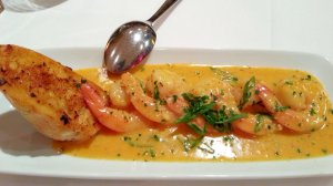 Delicious creamy BBQ shrimp