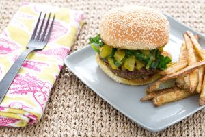 Southern Style Burgers with Chow Chow