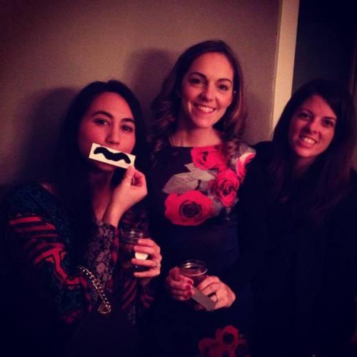 Polly, Carina and I at Philipp's party