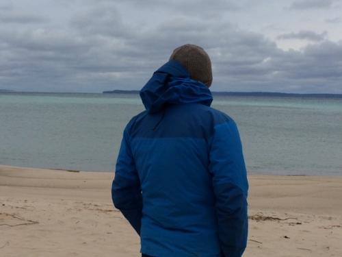 Bryan at the beach!
