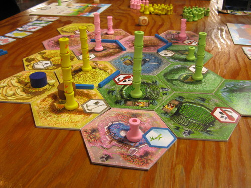 Takenoko panda game