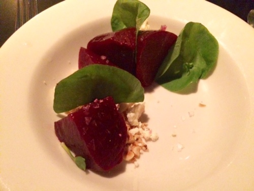 Sweet and salty beets