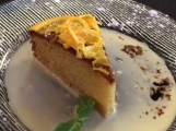 Orange olive oil cake at FareStart