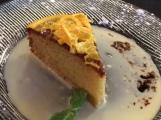 Orange olive oil cake at FareStart