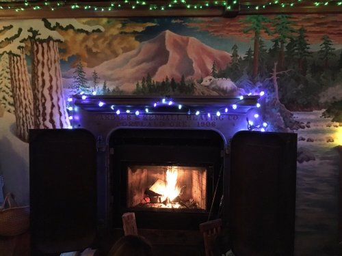 Fireside at Skyway Bar and Grill in Zigzag, OR