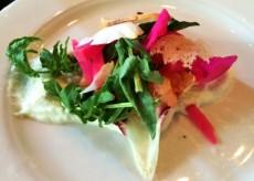 Sablefish gravlax with cream