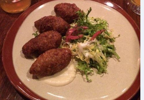 Delish lamb meatballs