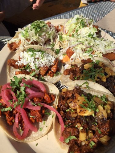 Tasty tacos for the table.