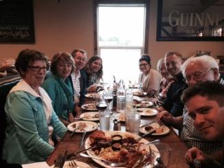Group photo at Tizley's!