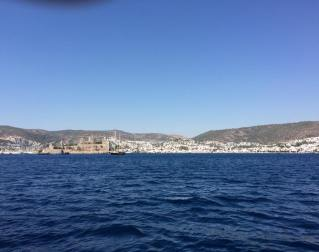 Coming into Bodrum.