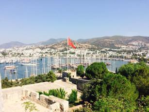 Bodrum from the caster tower
