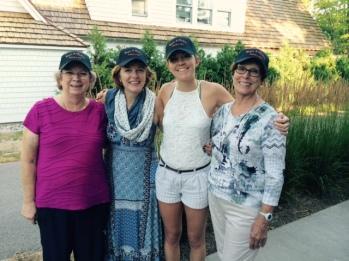 Girls looking good in hats