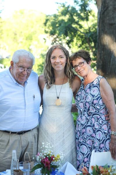 The Gpas and I looking good at the rehearsal dinner