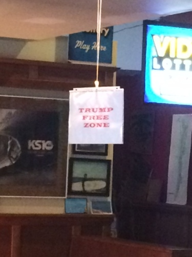 Interesting sign in a coffee shop