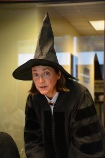 Annex buddy Maureen as Professor McGonnagill.