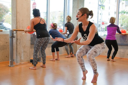 Shots from last weeks Yelp barre class