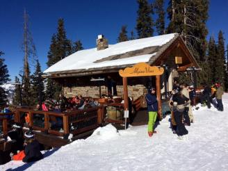 Wine at the top of the mountain? At noon?
