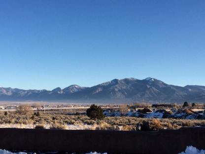 Heading out of Taos