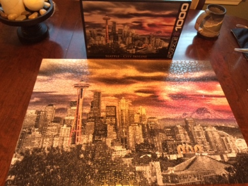 Seattle by puzzle.