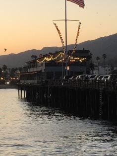 Sunset on Stern's Wharf