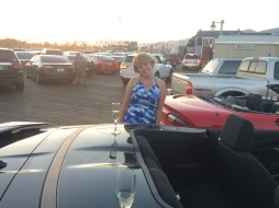 Champagne and Camaros go hand and hand