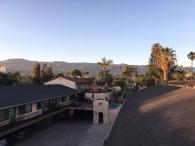 Mountain views from our inn