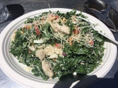 Awesome and filling kale salad