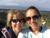Mom and I at the top