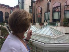 Interesting terrace