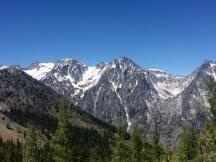 Mountains up close