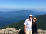 Mom and Dad at the summit