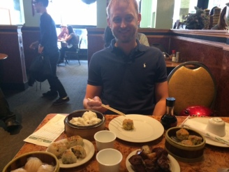 Dim sum is great hangover food