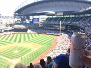 Rallying at the Mariners vs Yankees game