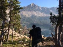 Taking the lake views in