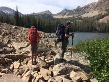 Observing Sliderock Lake