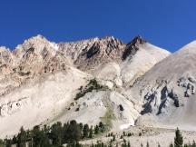 Castle Peak from its base