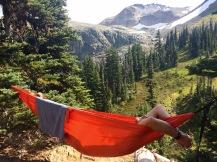 Bryan enjoying hammock time