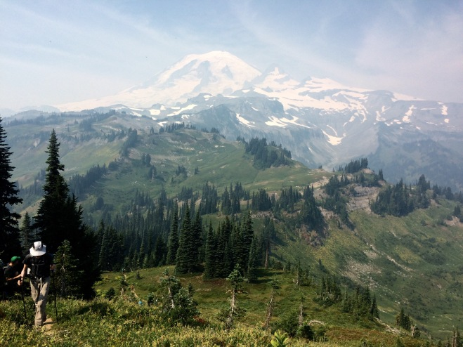Goodbye Mt. Rainier