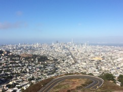 From atop Twin Peaks