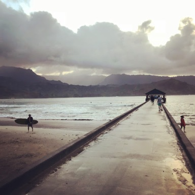 The Hanelei Pier
