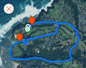 Route for run #2