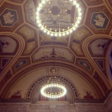 Foyer ceiling in DIA