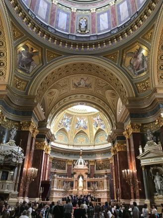 Gorgeous cathedral interior