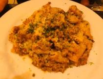 Lamb pasta of the night