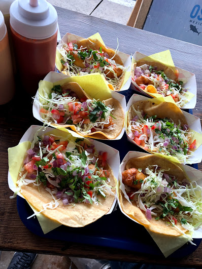And back for Oscar's tacos at happy hour before flight