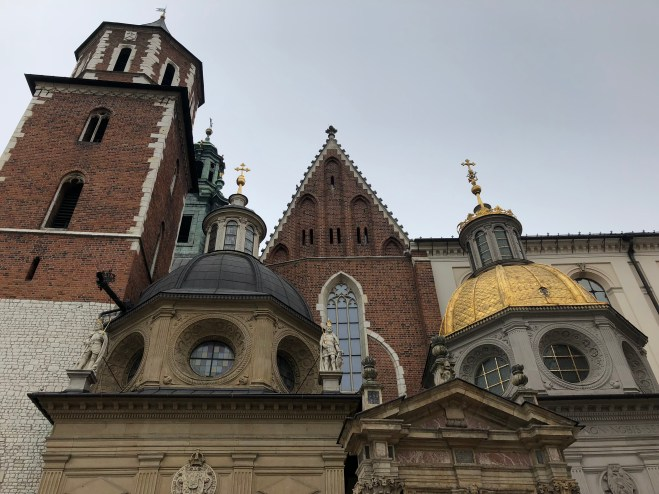 Wawel Castle cathedral and its many forms of architecture over the years